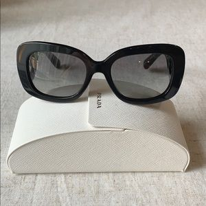 Prada Baroque square sunglasses